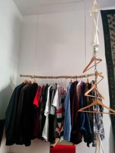 Alternative Kleiderstange