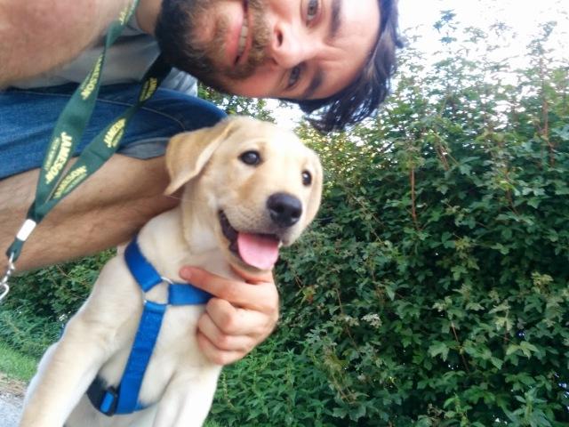 Hunde Selfie