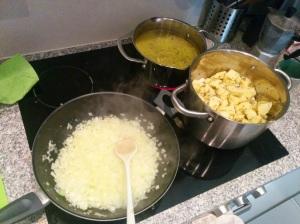 Das Kochen ist des Gaidos Lust