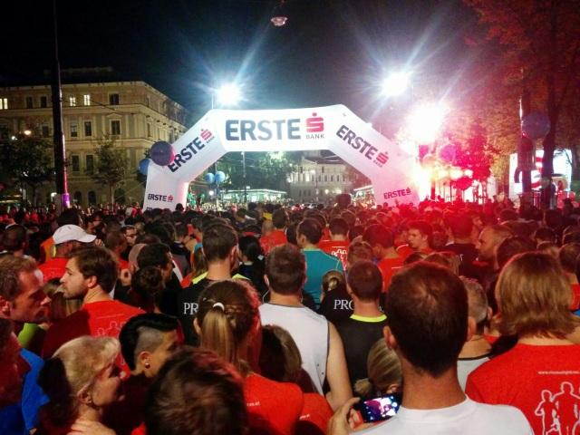 Start beim vienna night run