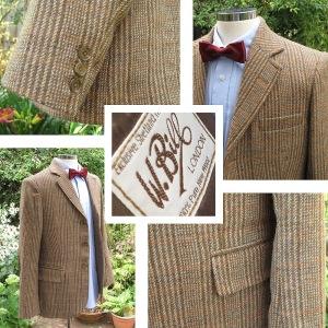 Doctor Who Shetland Tweed Jacket