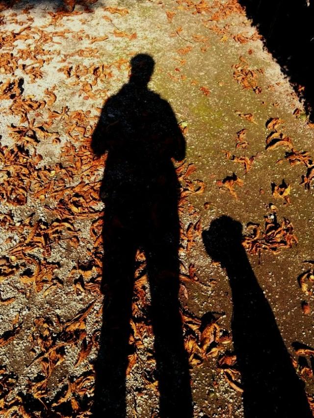 Spiel mit dem Schatten