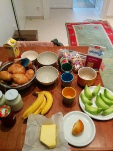 Frühstück von Papa